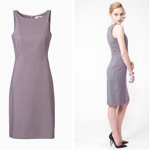 MM Lafleur Lydia Sleeveless Sheath Dress Lilac